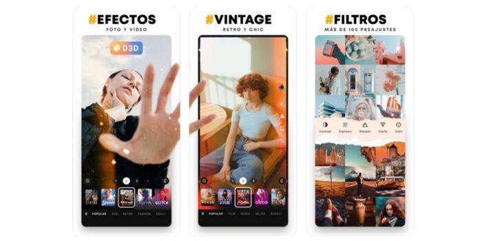 prequel app edicion filtros