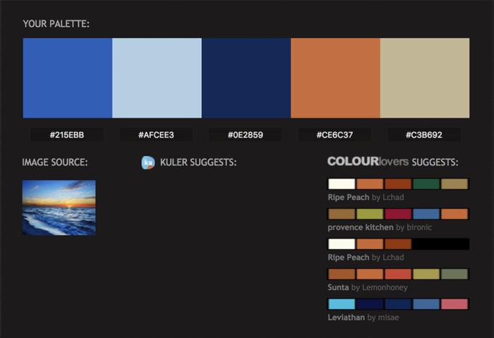 Paleta de colores un elemento para la identidad corporativa